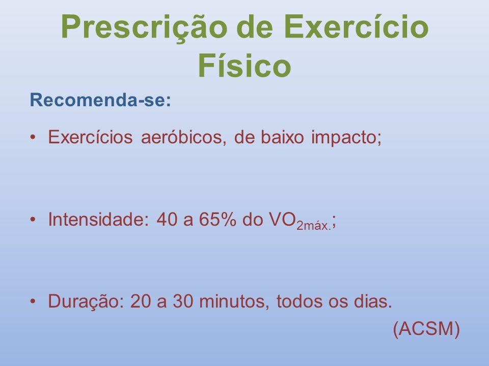 Prescrição de Exercício Físico