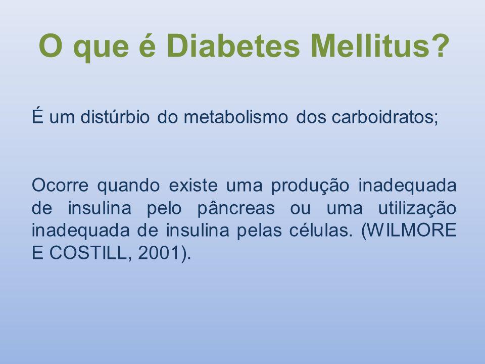 O que é Diabetes Mellitus