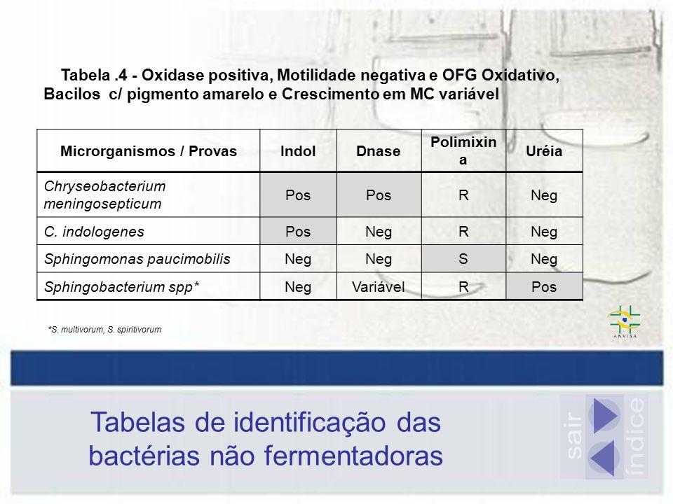Microrganismos / Provas