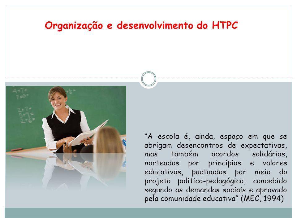 Organização e desenvolvimento do HTPC