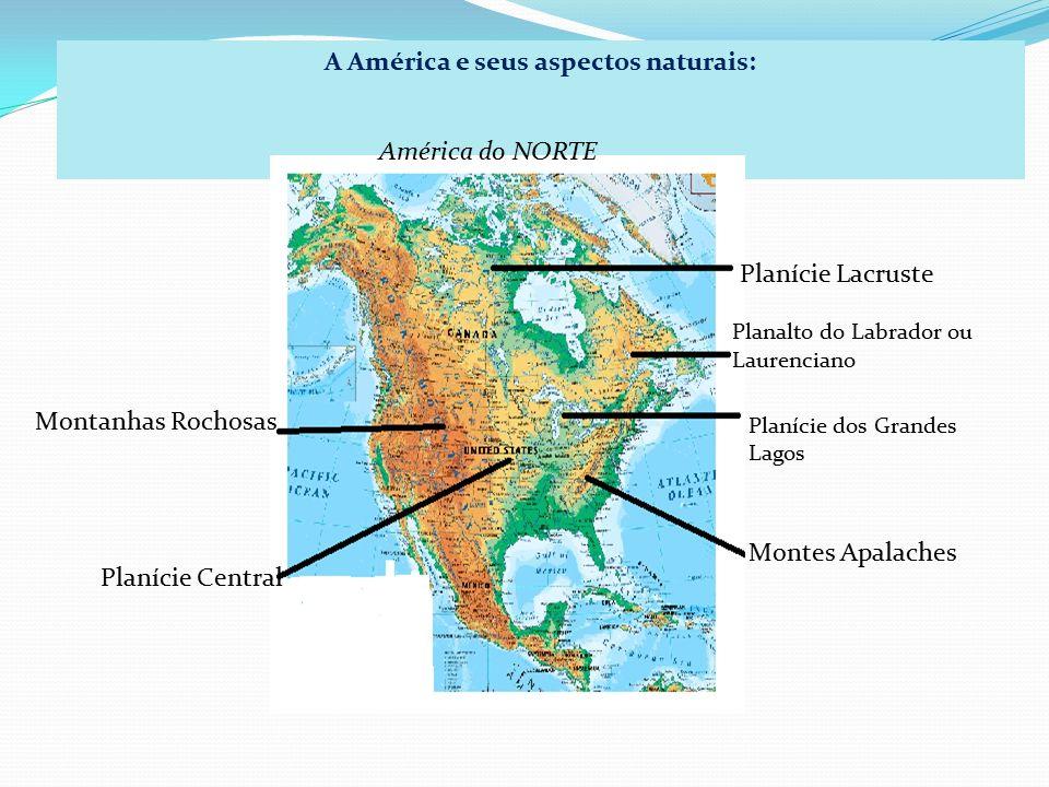 A América e seus aspectos naturais: