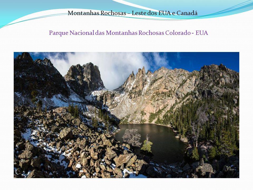 Parque Nacional das Montanhas Rochosas Colorado - EUA