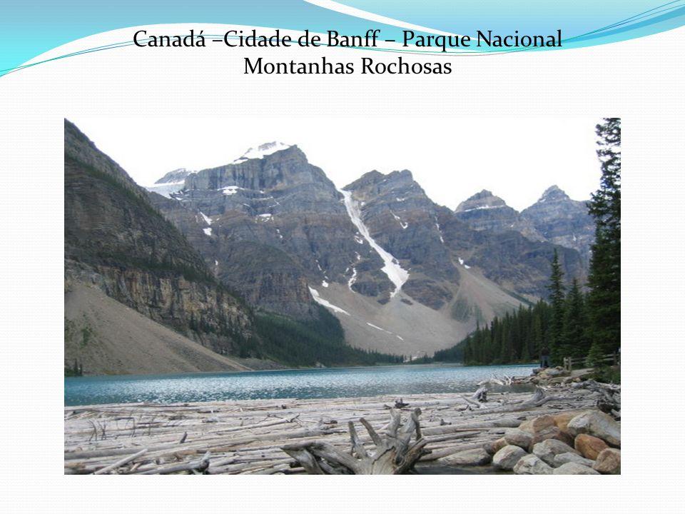 Canadá –Cidade de Banff – Parque Nacional