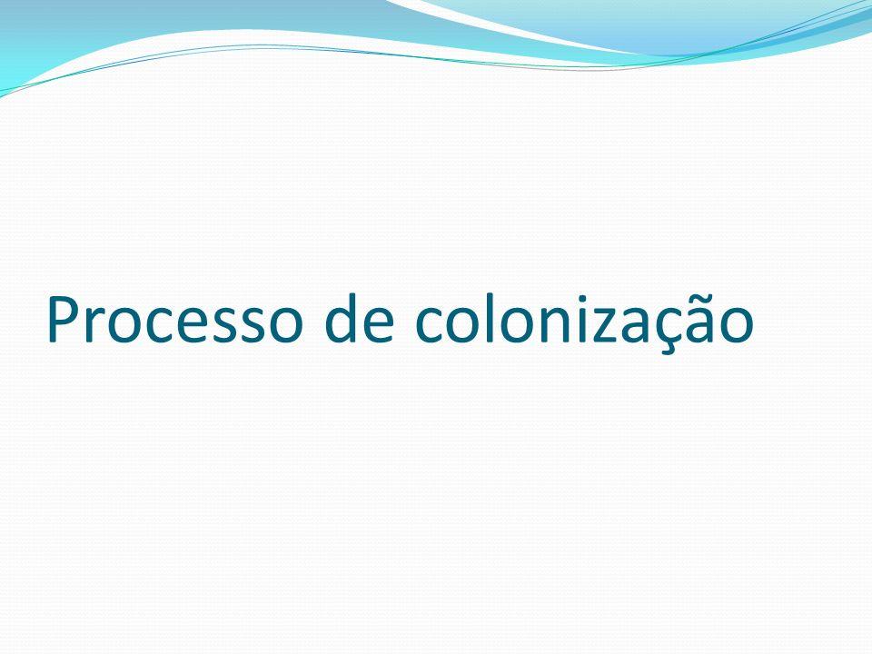 Processo de colonização