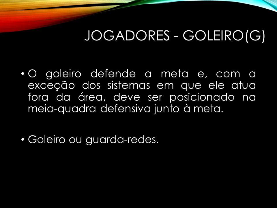 JOGADORES - GOLEIRO(G)