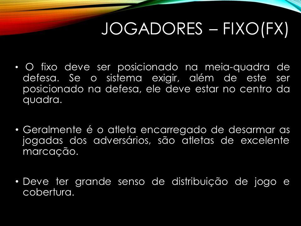 JOGADORES – FIXO(FX)