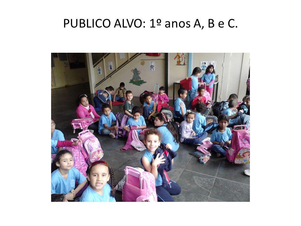 PUBLICO ALVO: 1º anos A, B e C.