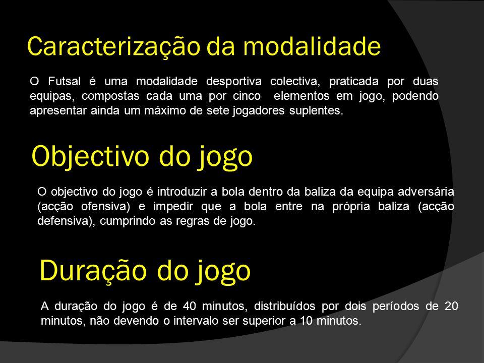 Caracterização da modalidade