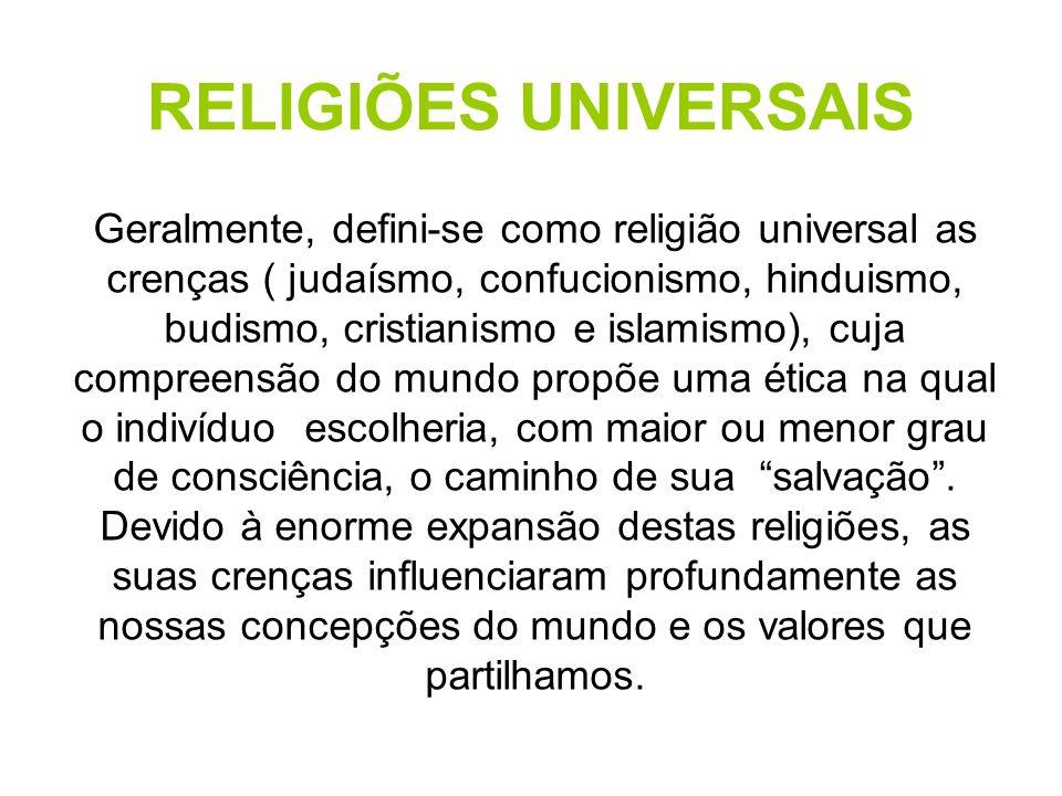 RELIGIÕES UNIVERSAIS