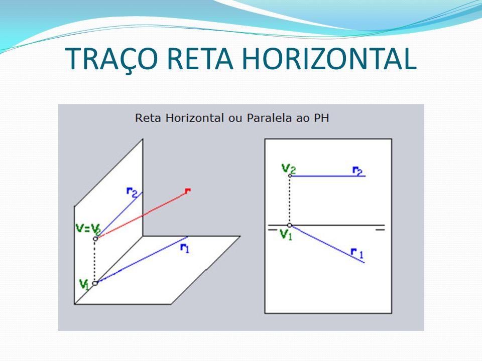 TRAÇO RETA HORIZONTAL