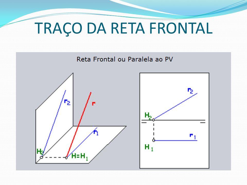 TRAÇO DA RETA FRONTAL