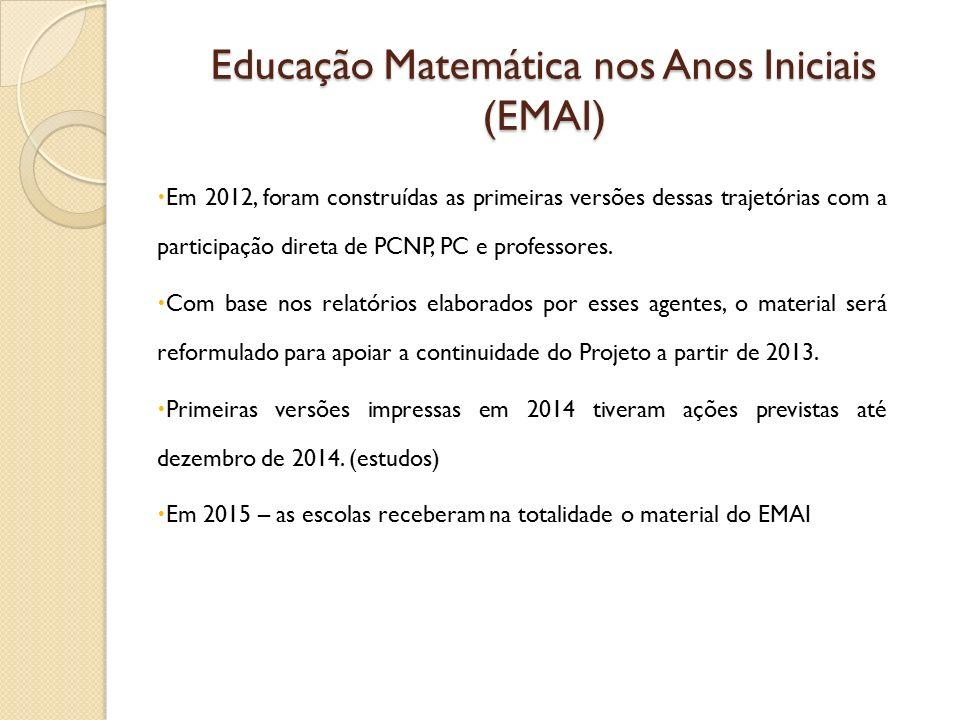Educação Matemática nos Anos Iniciais (EMAI)