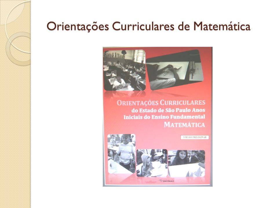 Orientações Curriculares de Matemática