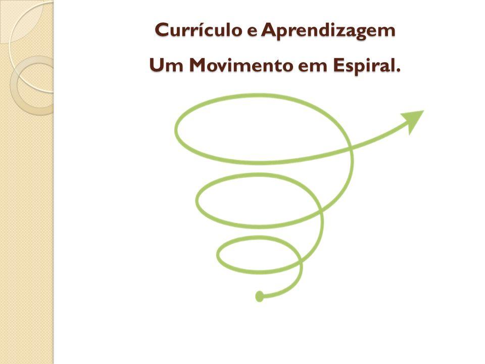 Currículo e Aprendizagem Um Movimento em Espiral.