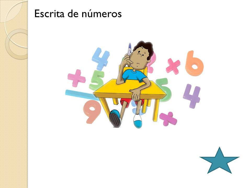 Escrita de números