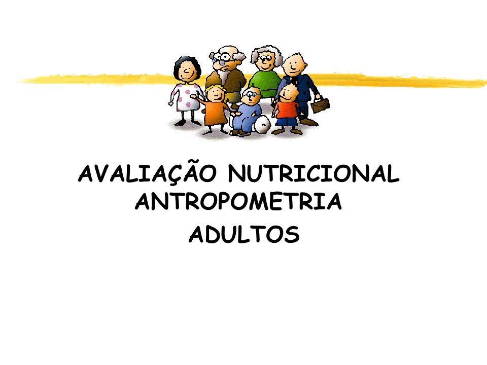 AVALIAÇÃO NUTRICIONAL ANTROPOMETRIA