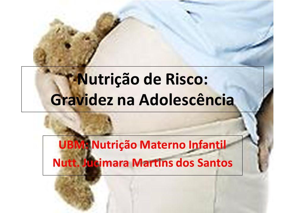 Nutrição de Risco: Gravidez na Adolescência