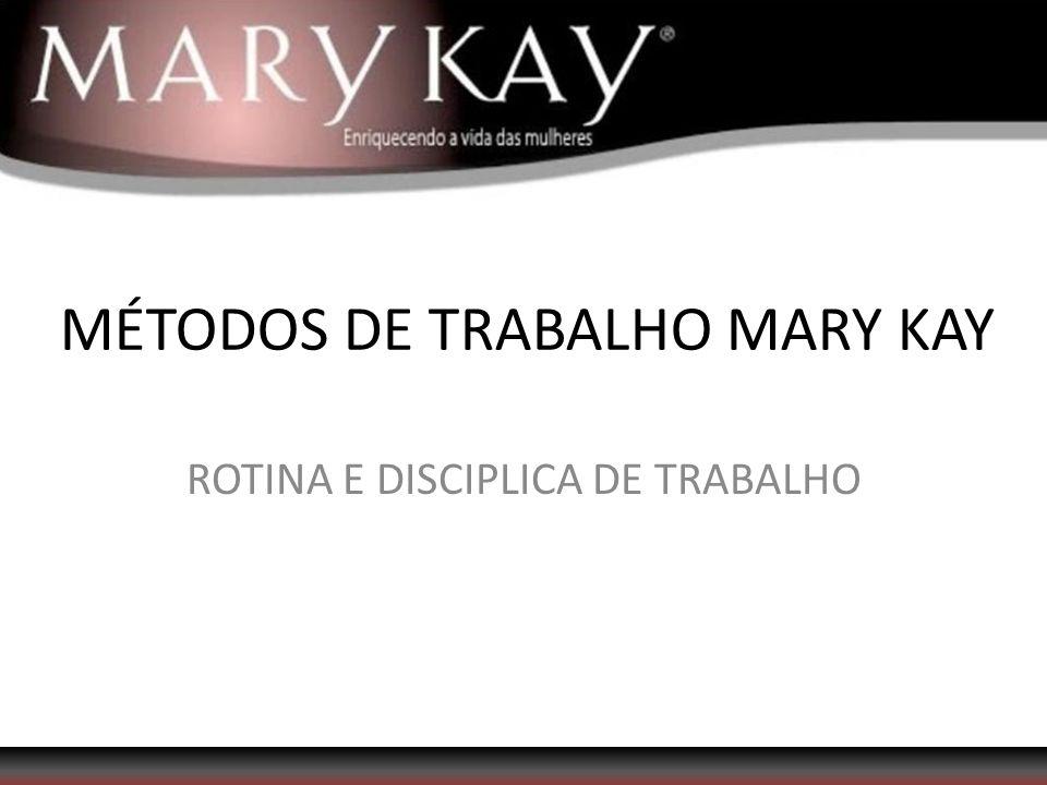 MÉTODOS DE TRABALHO MARY KAY