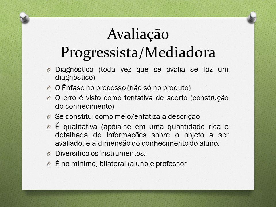 Avaliação Progressista/Mediadora