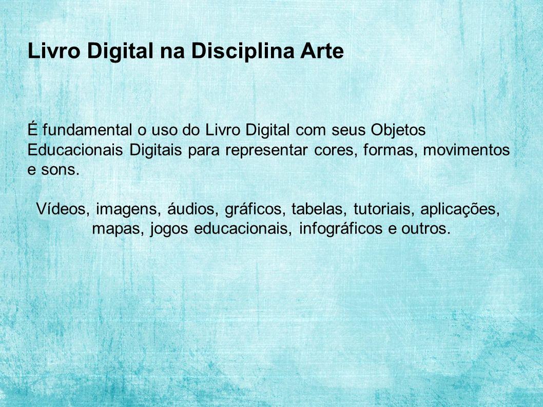 Livro Digital na Disciplina Arte