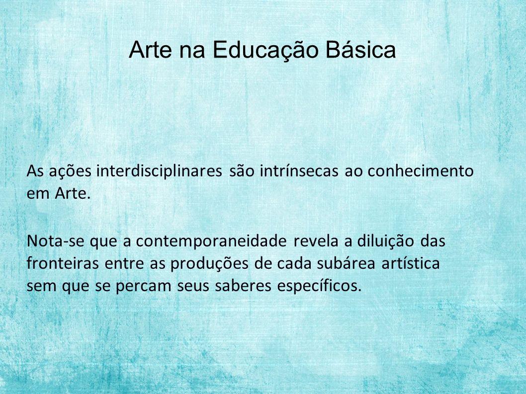 Arte na Educação Básica