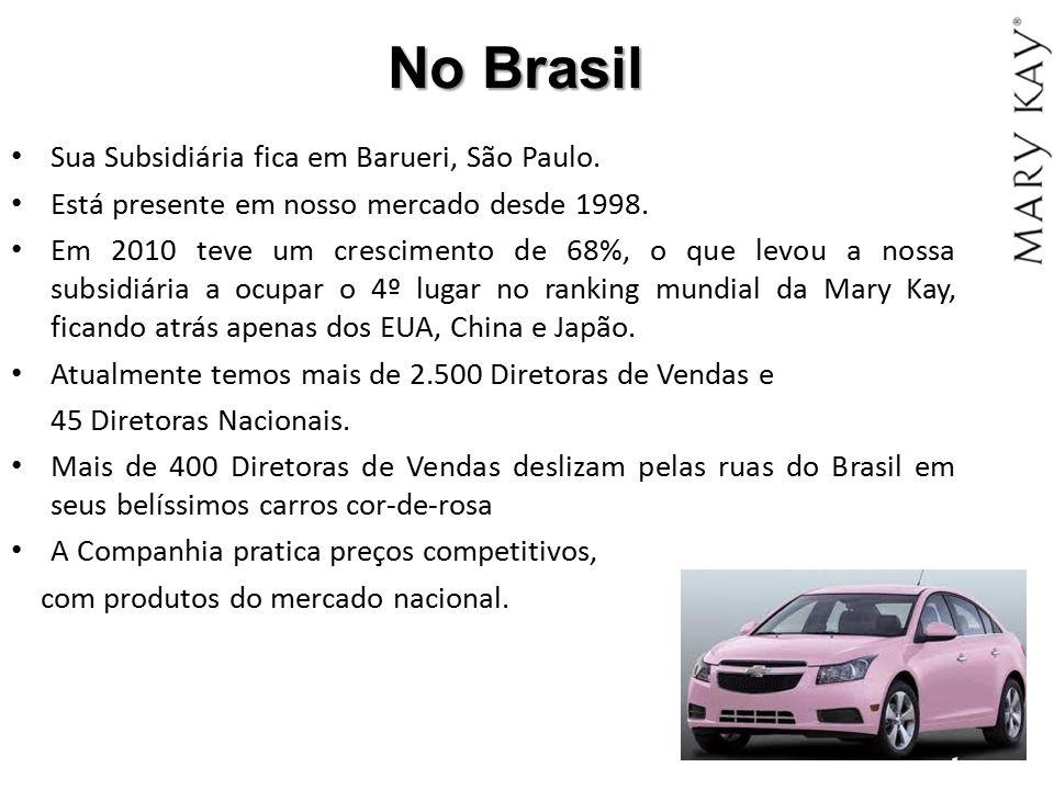 No Brasil Sua Subsidiária fica em Barueri, São Paulo.