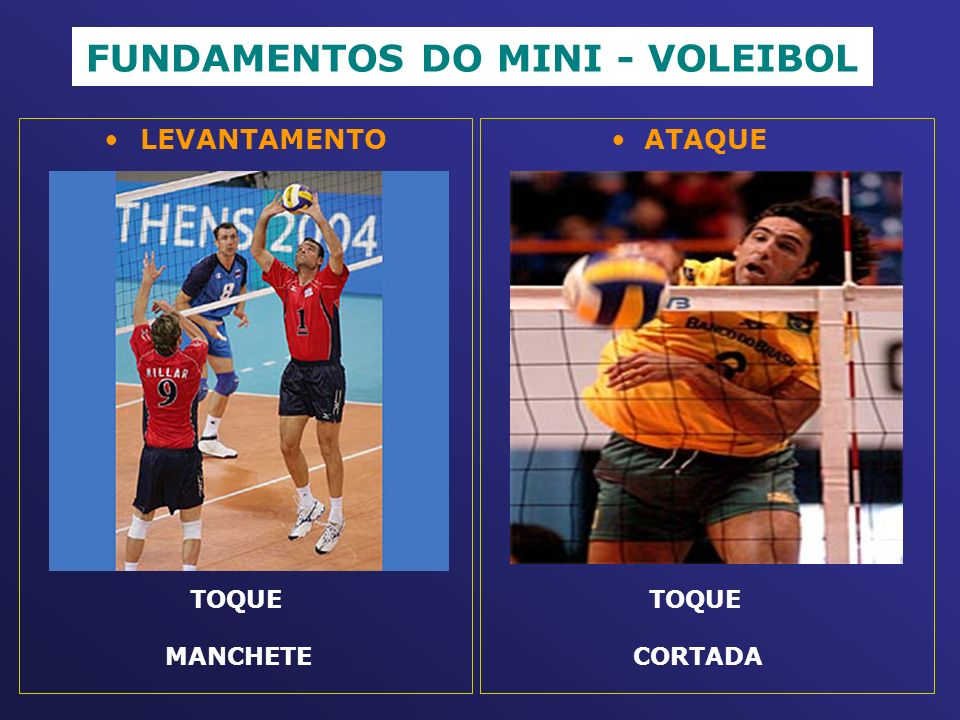 FUNDAMENTOS DO MINI - VOLEIBOL