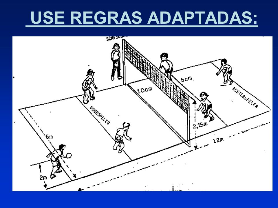 USE REGRAS ADAPTADAS: