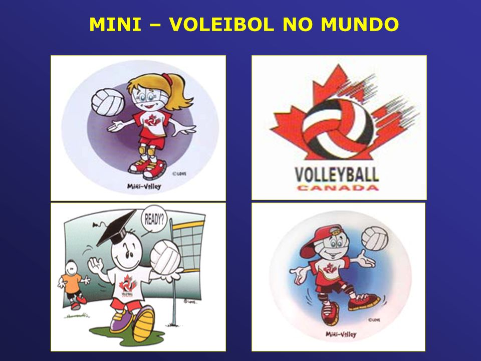 MINI – VOLEIBOL NO MUNDO