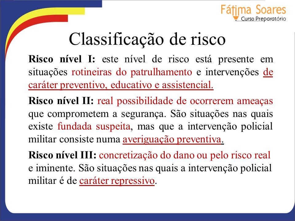 Classificação de risco