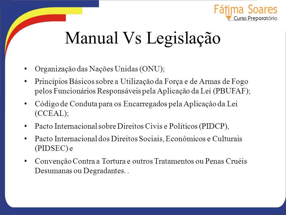 Manual Vs Legislação Organização das Nações Unidas (ONU);