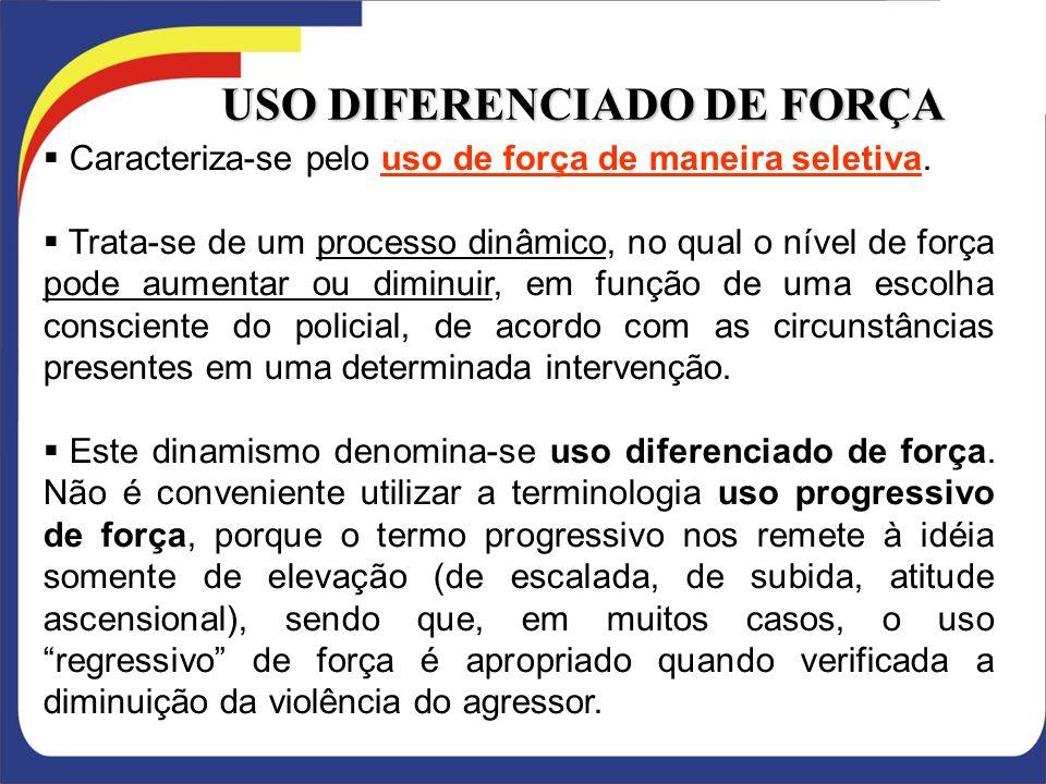 USO DIFERENCIADO DE FORÇA