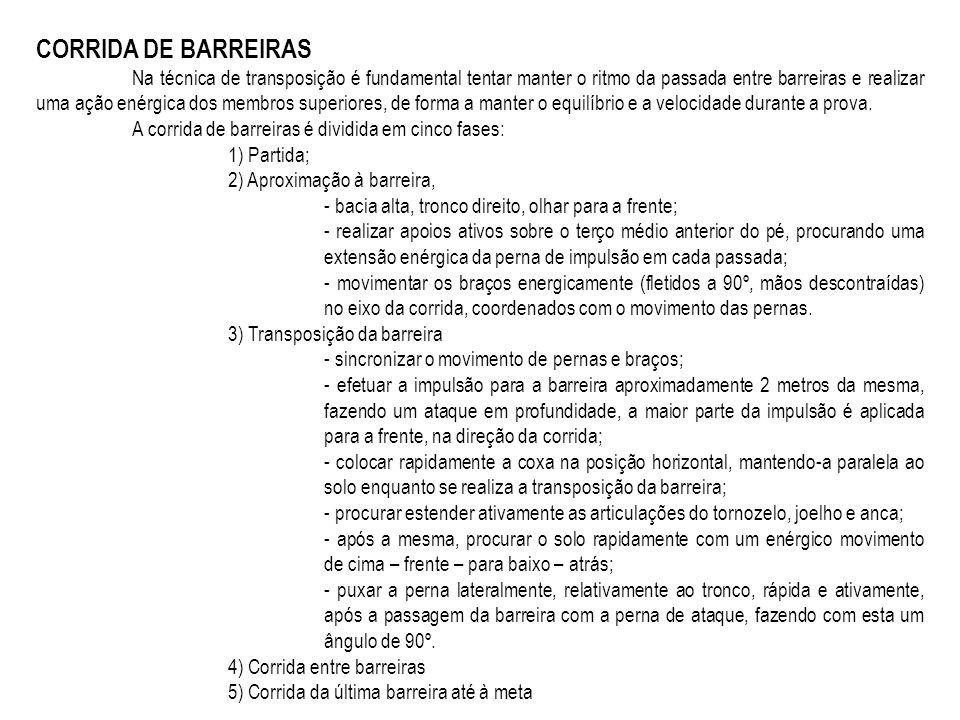 CORRIDA DE BARREIRAS