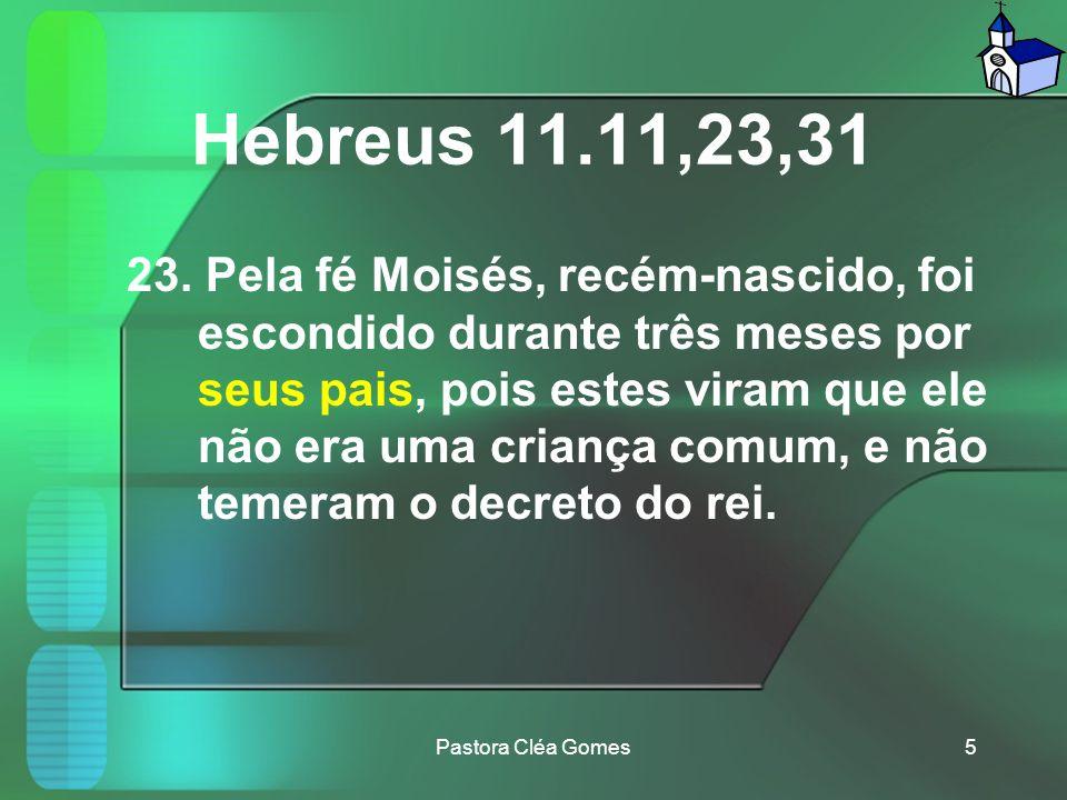 Hebreus 11.11,23,31