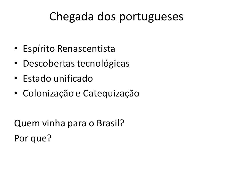 Chegada dos portugueses