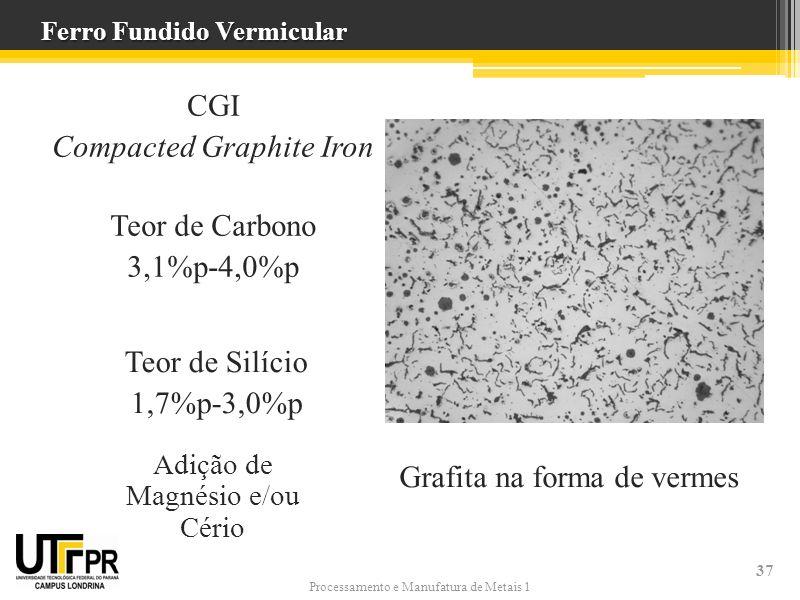 Ferro fundido cinzento nodular e vermicular ppt carregar