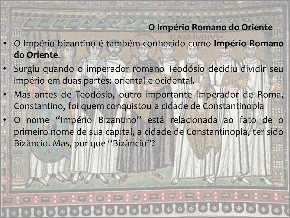 O Império Romano do Oriente