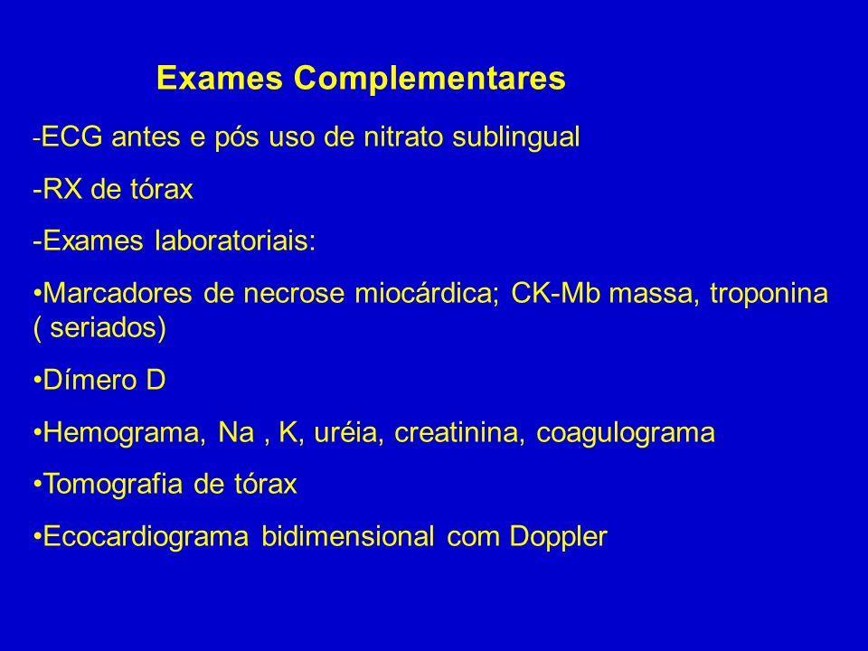 Exame d dimero
