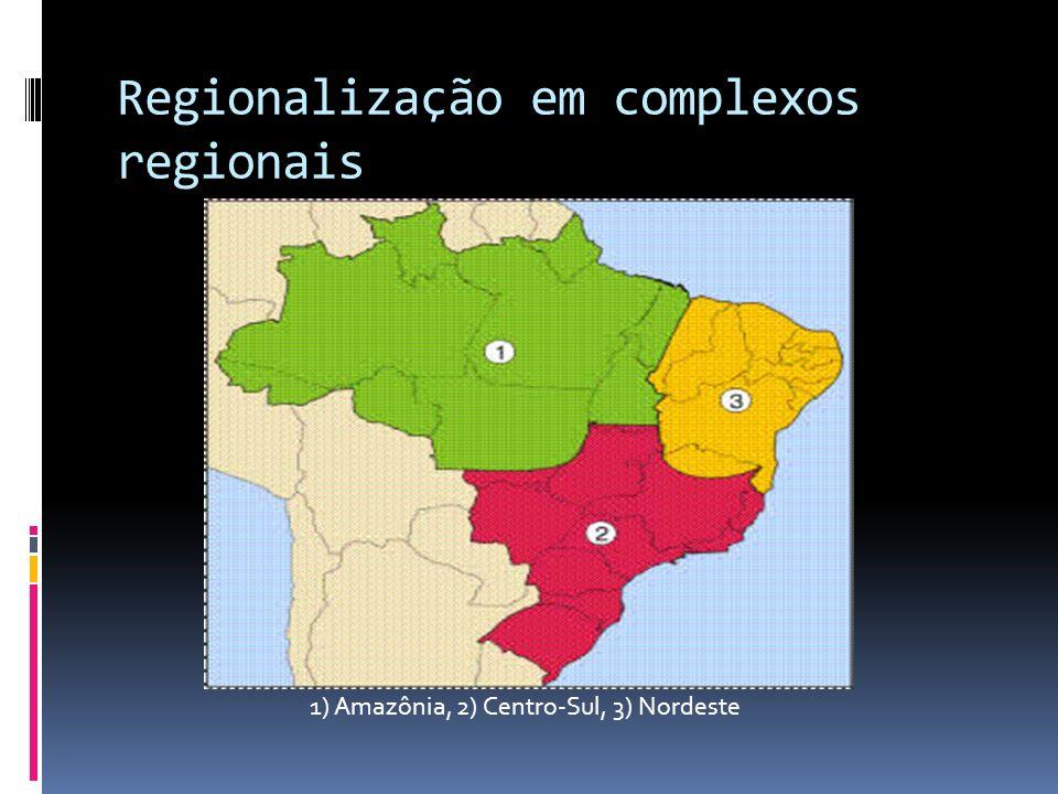 Regionalização em complexos regionais