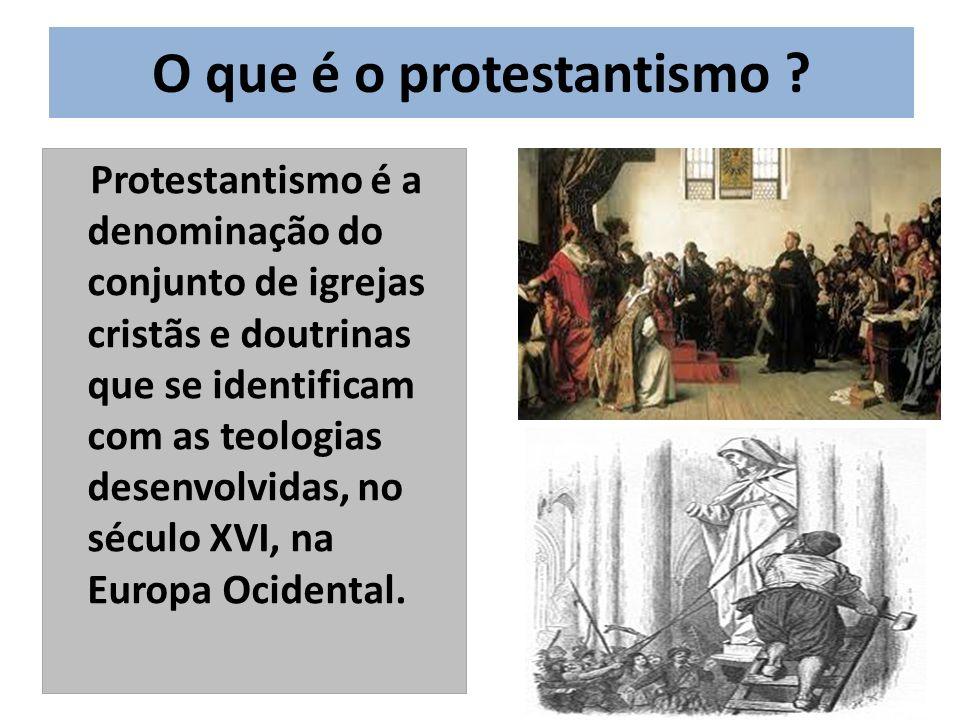 O que é o protestantismo
