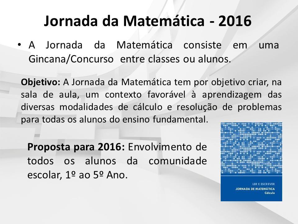 Jornada da Matemática - 2016