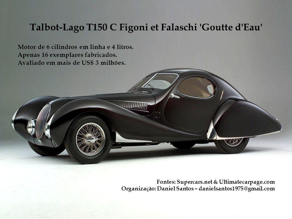 Talbot-Lago T150 C Figoni et Falaschi Goutte d Eau
