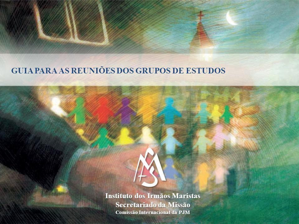 GUIA PARA AS REUNIÕES DOS GRUPOS DE ESTUDOS