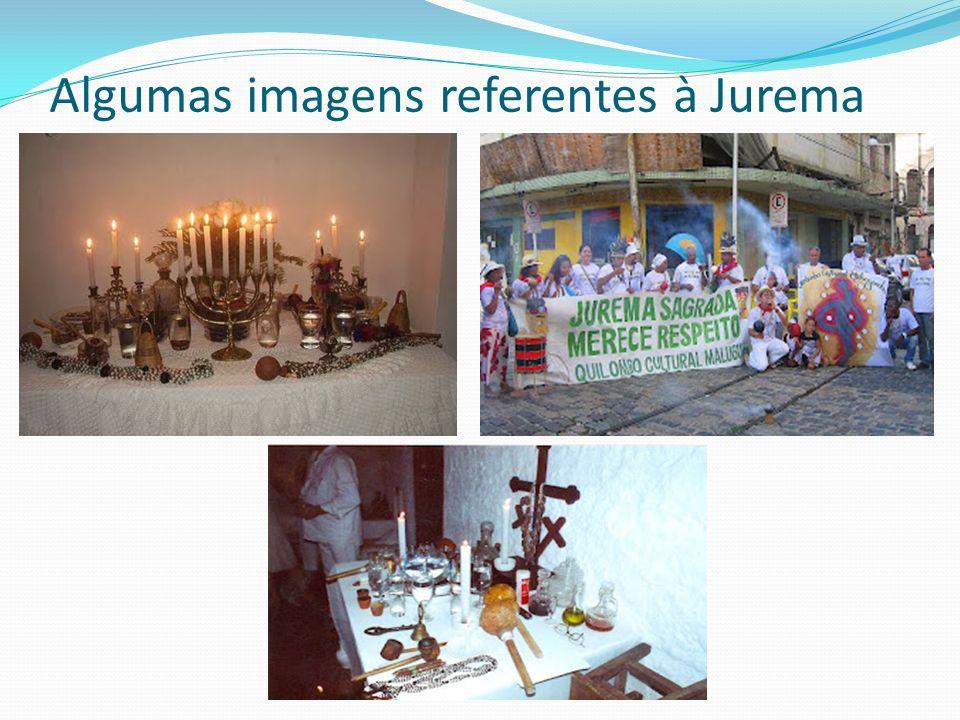 Algumas imagens referentes à Jurema
