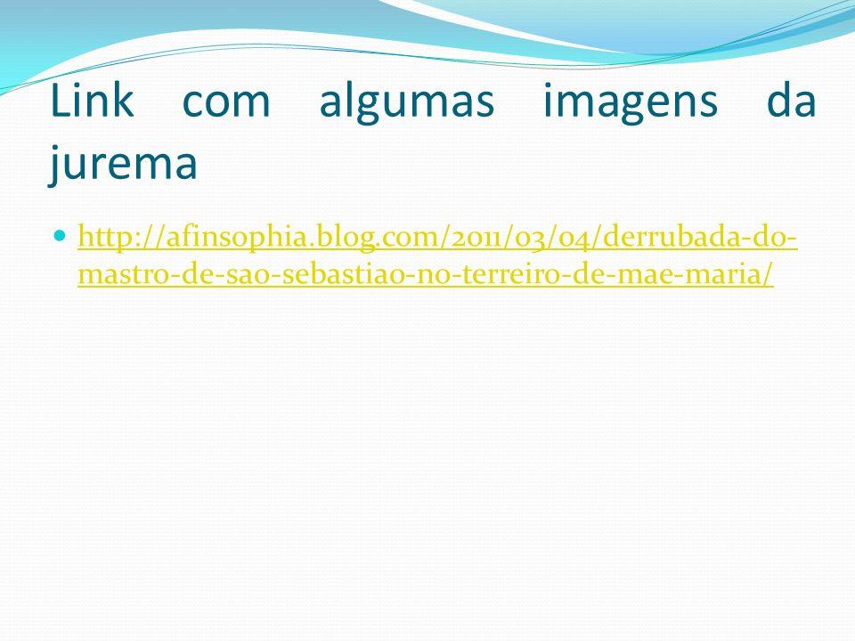 Link com algumas imagens da jurema