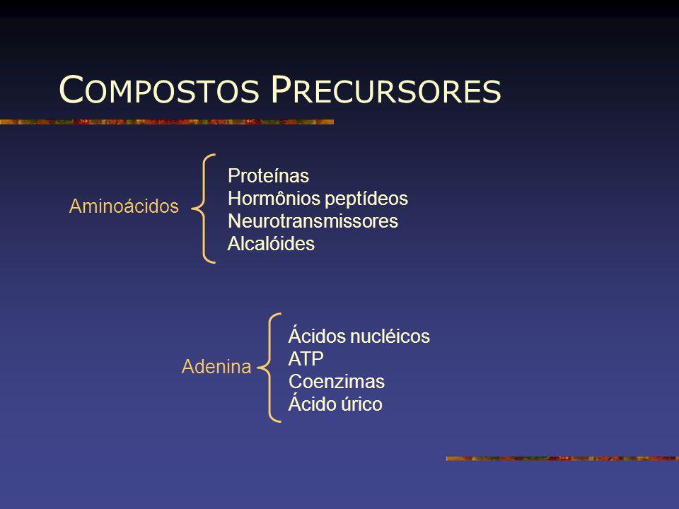 COMPOSTOS PRECURSORES