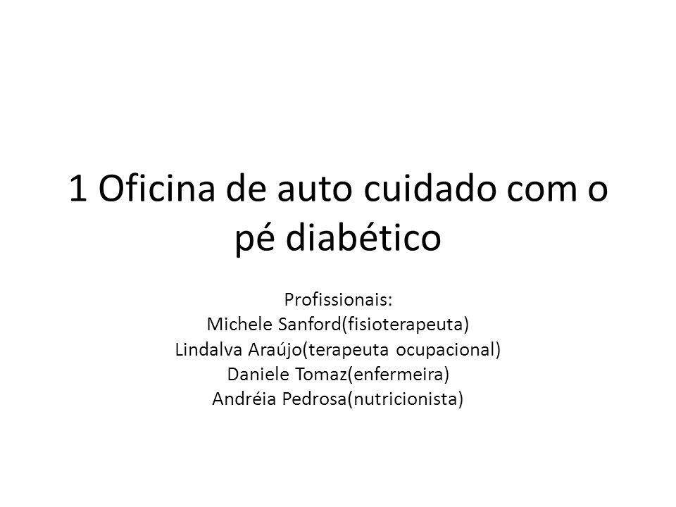 1 Oficina de auto cuidado com o pé diabético