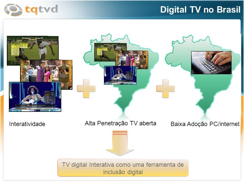 TV digital Interativa como uma ferramenta de inclusão digital