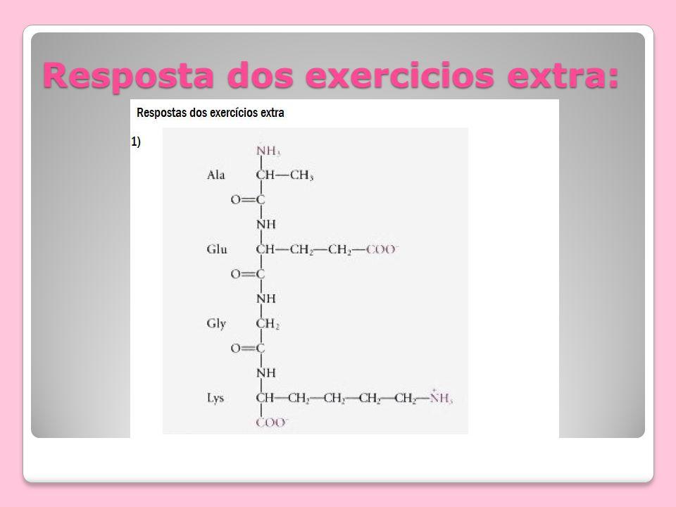 Resposta dos exercicios extra: