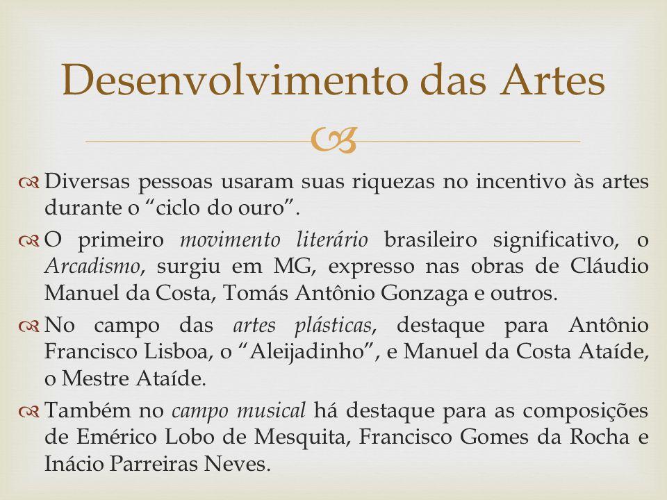 Desenvolvimento das Artes
